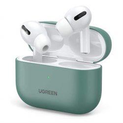 Ugreen Silica Gel tok fólia Apple Airpods Pro zöld (80514) tok