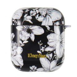 Kingxbar AirPods Case Szilikon védő doboz AirPods fejhallgató Lily tok