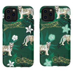 Kingxbar iPhone 11 Pro Max Forest Series-Green Tiger