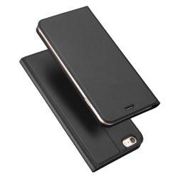 DUX DUCIS Skin Pro Könyvtartó típusú tok iPhone 6S / 6 szürke tok telefon tok hátlap