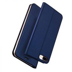 DUX DUCIS Skin Pro Flipes tok telefon tokú telefon tok telefontok iPhone 8 Plus / 7 Plus kék