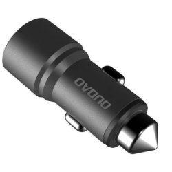 Dudao Univerzális autós töltő 2 USB 3.1A szürke (R5 szürke)