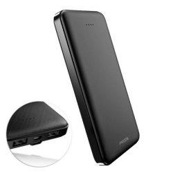 Proda Power Bank külső akkumulátor 10000mAh 2x USB fekete (PD-P39 fekete)