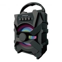 Proda Xunshen hordozható vezeték nélküli Bluetooth hangszóró FM rádió / SD kártya olvasó / AUX / USB fekete (PD-S500 fekete)