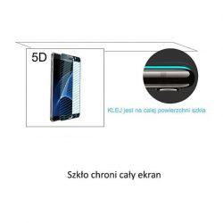 IPhone 6 6S PLUS - edzett üveg üvegfólia 0.3mm 5D Fekete