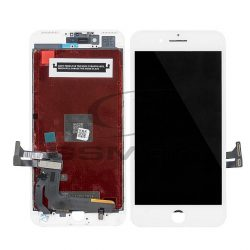 LCD + Érintőpanel Teljes Iphone 7 Plusz Fehér [Auo] A1661 A1784