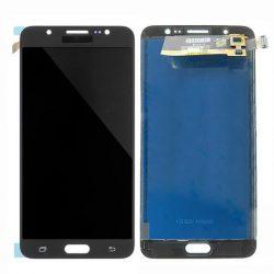 LCD + Érintőpanel teljes SAMSUNG J710 GALAXY J7 2016 Fekete [HQ LCD]