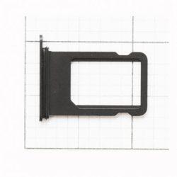 SIM-kártya tartóját IPHONE 7 JET Fekete