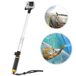 Float szelfi Pole Bővíthető Úszó Egylábú GoPro SJCAM