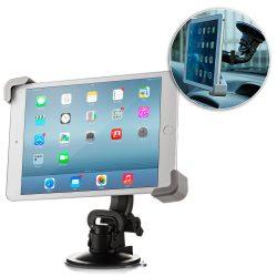 Autó Tablet szélvédőre erősíthető tapadókorongos tartó Universal (7 - 10 hüvelyk) tok telefon tok hátlap