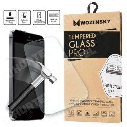 """WOZINSKY edzett üveg 9H PRO + Univerzális 5,5' """"-os képernyő védő kijelzőfólia üvegfólia tempered glass"""