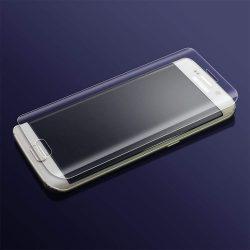 Teljes képernyős 3D 9H edzett üveg kijelző védő Samsung Galaxy S7 Edge G935 átlátszó kijelzőfólia üvegfólia tempered glass