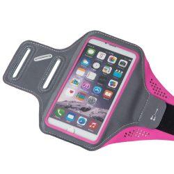 Futó karszalagot Samsung Sony HTC iPhone LG Huawei L 5.5 pink
