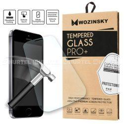 WOZINSKY edzett üveg 9H PRO + képernyővédő fólia LG G6 H870 H873 kijelzőfólia üvegfólia tempered glass