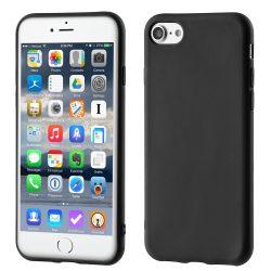 Soft Matt tok iPhone 6S 6 fekete tok telefon tok hátlap