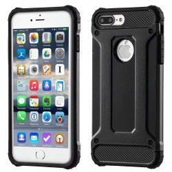 Hibrid Armor telefon tok hátlap tok Ütésálló Robusztus Cover iPhone 7 Plus fekete