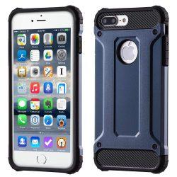Hibrid Armor telefon tok telefontok Ütésálló Robusztus Cover iPhone 7 Plus sötétkék