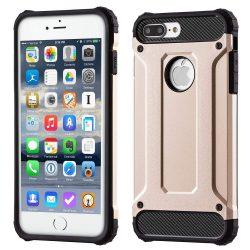 Hibrid Armor telefon tok telefontok Ütésálló Robusztus Cover iPhone 7 Plus arany