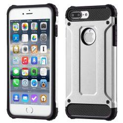 Hibrid Armor telefon tok telefontok Ütésálló Robusztus Cover iPhone 7 Plus ezüst