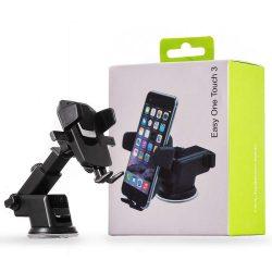 Teleszkópos Autós tartó Phone Holder Portál vagy szélvédő fekete