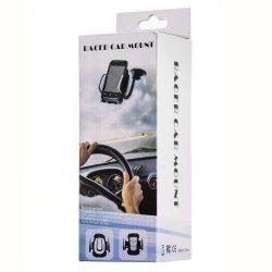 Univerzális Autós szélvédő Phone Mount Holder flexibilis Long Arm fekete