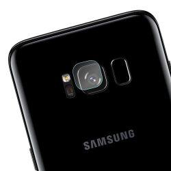Vissza Camera Lens edzett üveg 9H Samsung Galaxy S8 Plus G955 3db beállítva kijelzőfólia üvegfólia tempered glass
