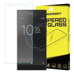 WOZINSKY edzett üveg 9H PRO + képernyővédő fólia Sony Xperia L1 G3311 G3313 kijelzőfólia üvegfólia tempered glass