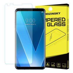 Wozinsky edzett üveg 9H képernyővédő fólia LG V30 kijelzőfólia üvegfólia tempered glass