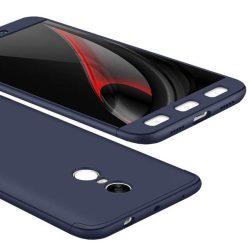 GKK 360 Protection telefon tok hátlap tok elöl és hátul teljes test tok telefon tok Xiaomi redmi NOTE 4. (MediaTek), kék