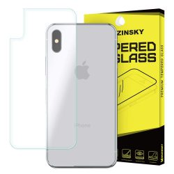 Wozinsky edzett üveg 9H Back Protector for iPhone X kijelzőfólia üvegfólia tempered glass