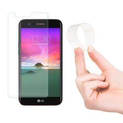 Wozinsky Nano Flexi Edzett Üvegfólia hibrid Screen Protector edzett üveg LG K10 2017 kijelzőfólia üvegfólia tempered glass