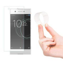 Wozinsky Nano Flexi Glass hibrid kijelzőfólia képernyőfólia edzett üveg Sony Xperia XA1 kijelzőfólia üvegfólia tempered glass