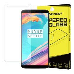Wozinsky edzett üveg 9H képernyővédő fólia OnePlus 5T kijelzőfólia üvegfólia tempered glass