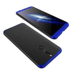 GKK 360 Protection telefon tok hátlap tok elöl és hátul teljes test tok telefon tok Huawei Mate 10 Lite fekete-kék