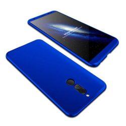 GKK 360 Protection telefon tok hátlap tok elöl és hátul teljes test tok telefon tok Huawei Mate 10 Lite blue