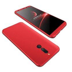GKK 360 Protection telefon tok telefontok (hátlap) tok elöl és hátul teljes test tok telefon tok Huawei Mate 10 Lite piros