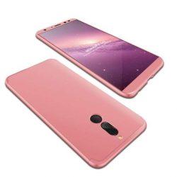GKK 360 Protection telefon tok hátlap tok elöl és hátul teljes test tok telefon tok Huawei Mate 10 Lite rózsaszín