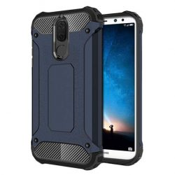 Hibrid Armor telefon tok hátlap tok Ütésálló Robusztus Cover Huawei Mate 10 Lite blue