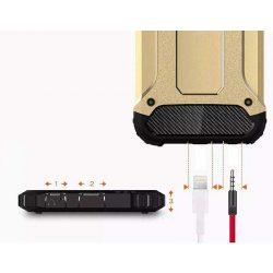 Hibrid Armor telefon tok telefontok (hátlap) tok Ütésálló Robusztus hátlap tok telefon tok Xiaomi redmi NOTE 5A Prime arany
