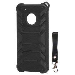 Spider Armor páncél tok telefon tok nehéz masszív burkolat Lenovo Moto G5 Plus fekete
