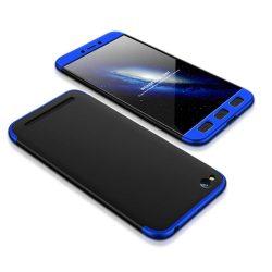 GKK 360 Protection telefon tok telefontok Első és hátsó az egész testet fedő Xiaomi redmi 5A fekete-kék