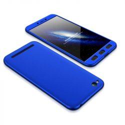GKK 360 Protection telefon tok telefontok Első és hátsó az egész testet fedő Xiaomi redmi 5A kék