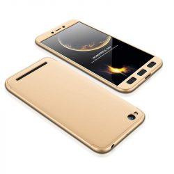 GKK 360 Protection telefon tok telefontok Első és hátsó az egész testet fedő Xiaomi redmi 5A arany