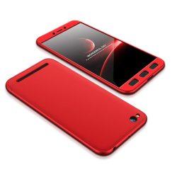 GKK 360 Protection telefon tok telefontok Első és hátsó az egész testet fedő Xiaomi redmi 5A piros