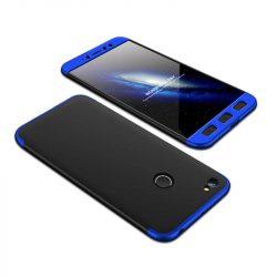 GKK 360 Protection telefon tok telefontok (hátlap) Első és hátsó az egész testet fedő Xiaomi redmi NOTE 5A Prime fekete-kék