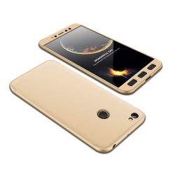 GKK 360 Protection telefon tok telefontok Első és hátsó az egész testet fedő Xiaomi redmi NOTE 5A Prime arany