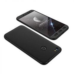 GKK 360 Protection telefon tok hátlap tok Első és hátsó tok telefon tok hátlap az egész testet fedő Xiaomi redmi NOTE 5A Prime fekete