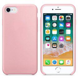 Szilikon telefon tok telefontok lágy rugalmas gumi védőborítás iPhone 8/7 rózsaszín