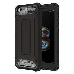 Hibrid Armor telefon tok telefontok Ütésálló Robusztus telefon tok Xiaomi redmi 5A fekete