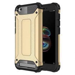 Hibrid Armor telefon tok hátlap tok Ütésálló Robusztus hátlap tok telefon tok Xiaomi redmi 5A arany